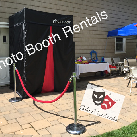 Closed and Open Air Photo Booths