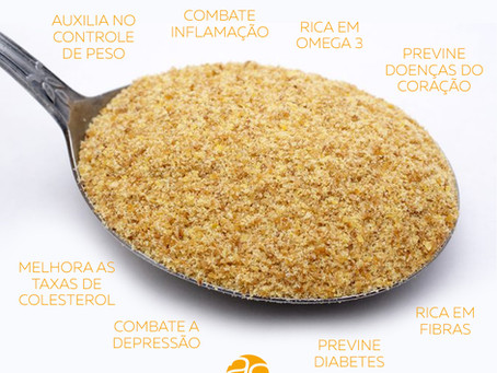 8 benefícios da farinha de linhaça