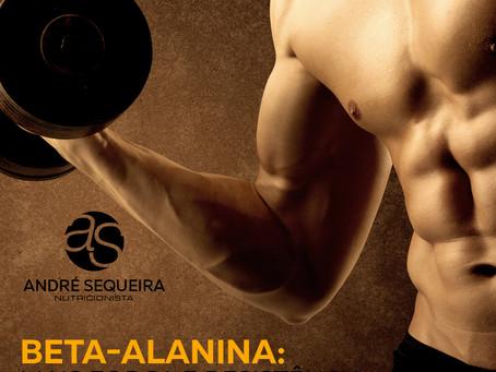 Beta-Alanina: Mais força e resistência durante o treino.