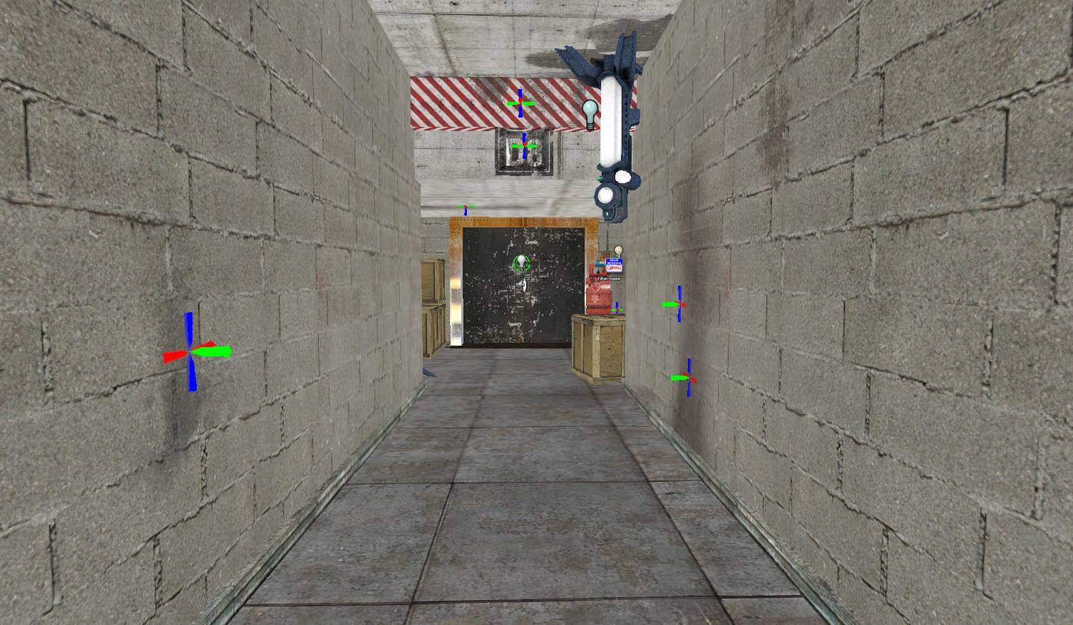 B-1: The Elevator Corridor