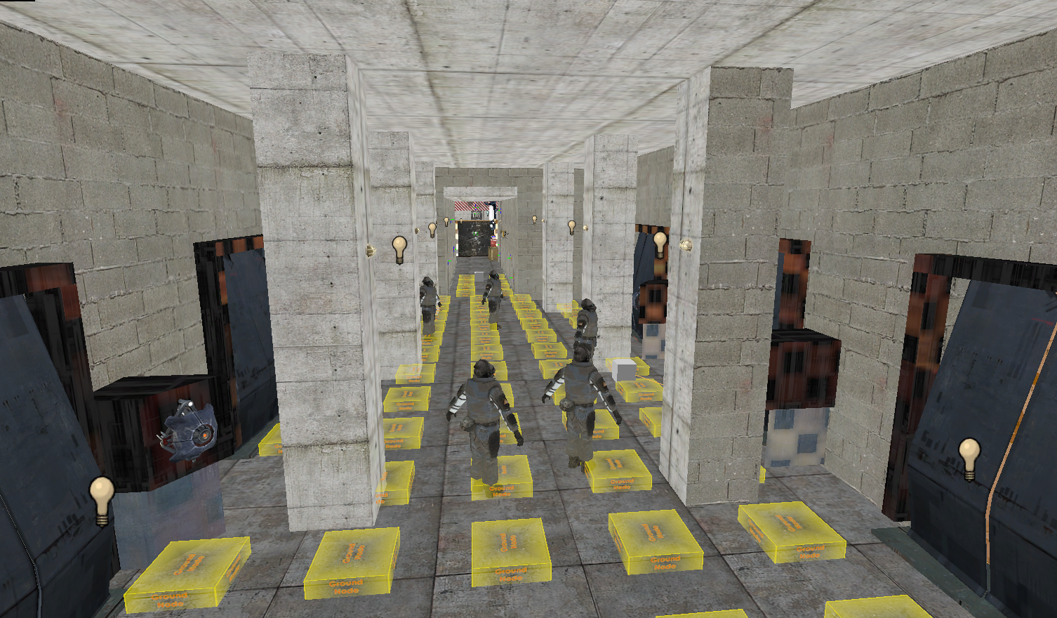 A-3: The Prison Basement Lobby