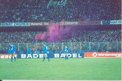 1988 Dinamo Zagreb v Stuttgart.