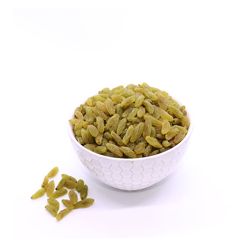 Sun Dried Green Raisins