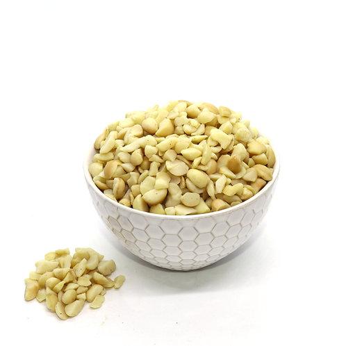 Roasted Macadamia Nut Pieces (Salted)