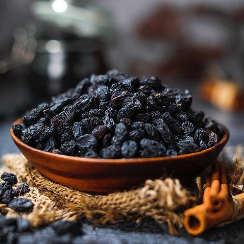 Organic Sun Dried Black Raisins (Black Currants)