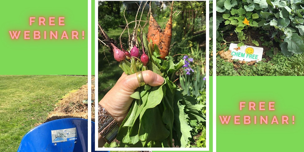 No Till Veganic Gardening Webinar
