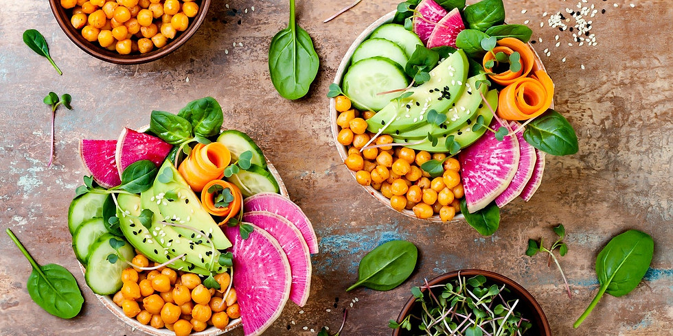 Eating for Personal & Planetary Health Virtual Cooking Demo