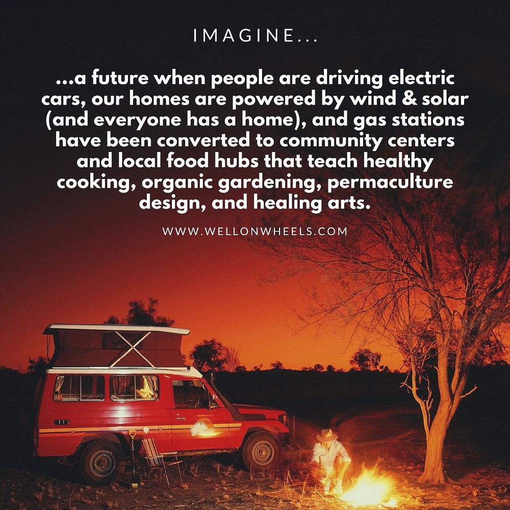 imagine a truly sustainable future