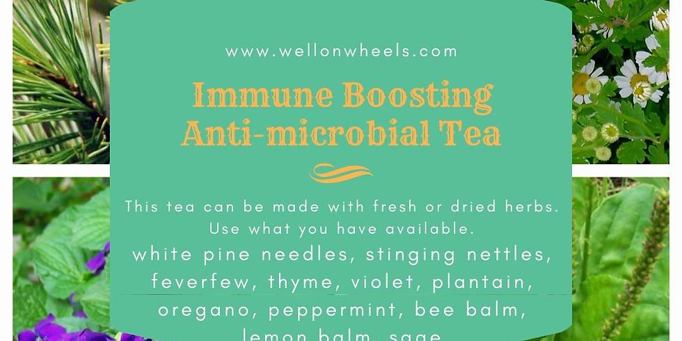 Making Herbal Infused Tea