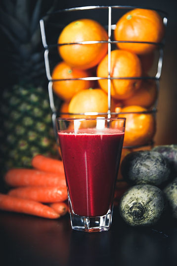 naturopathe - jus de fruits et légumes