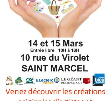Salon des créateurs - Saint Marcel