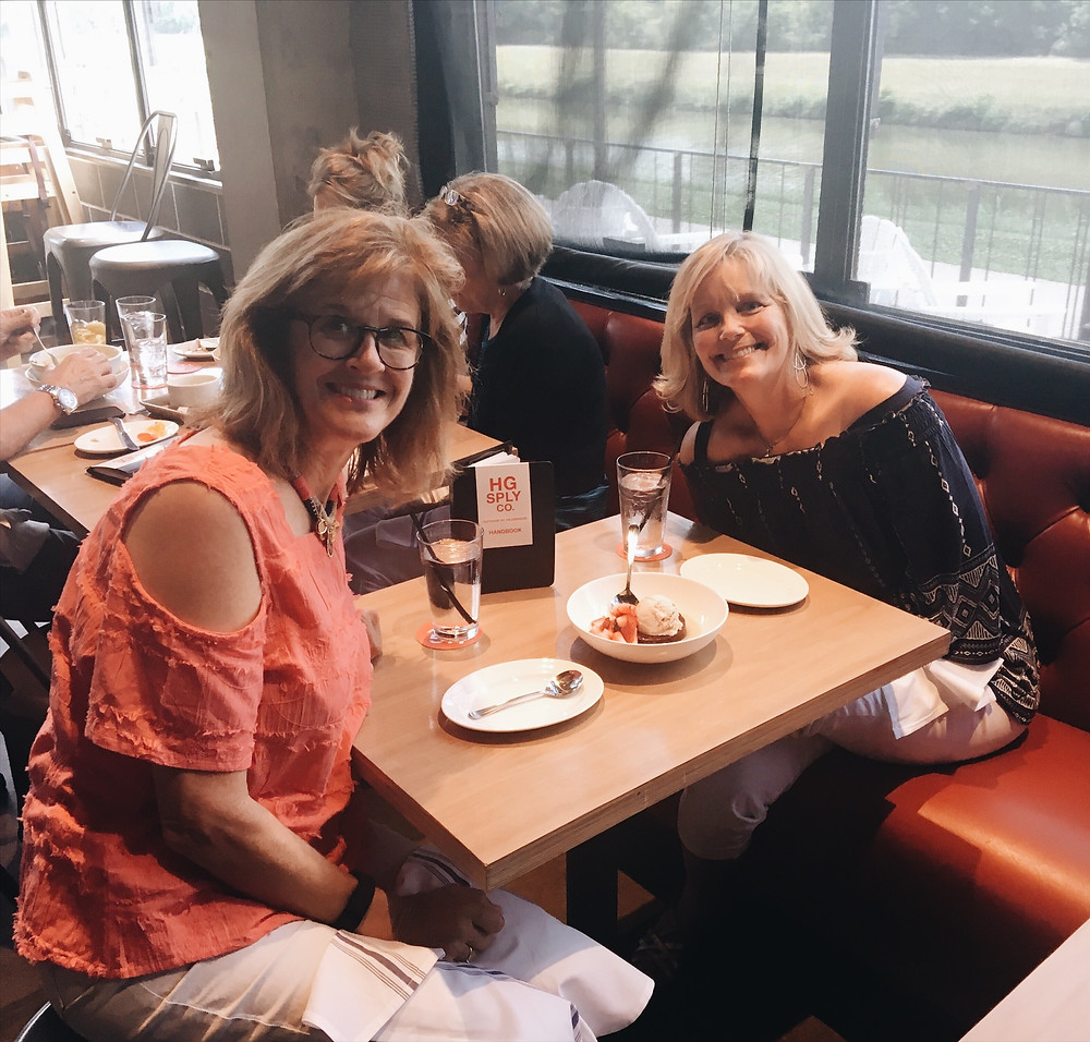 My Baylor roommate, Leslie Fain, has been a true friend and prayer warrior for 40 years, despite the fact we haven't lived in the same town most of the time. We get together often and can really storm heaven's gates on the phone!