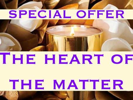 SPECIAAL AANBOD: the heart of the matter