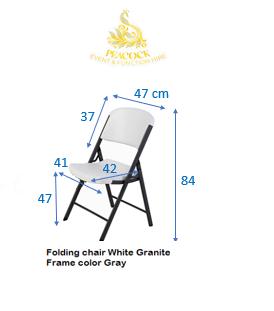 Walnut Chair Frame Gray