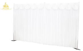 Silk backdrop 3x6 mt