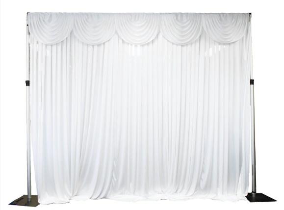 Silk backdrop 3x6mt