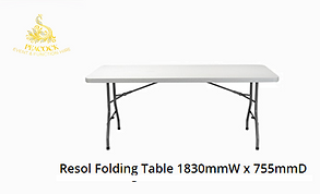 Trestle Table 1830 W x 755 D