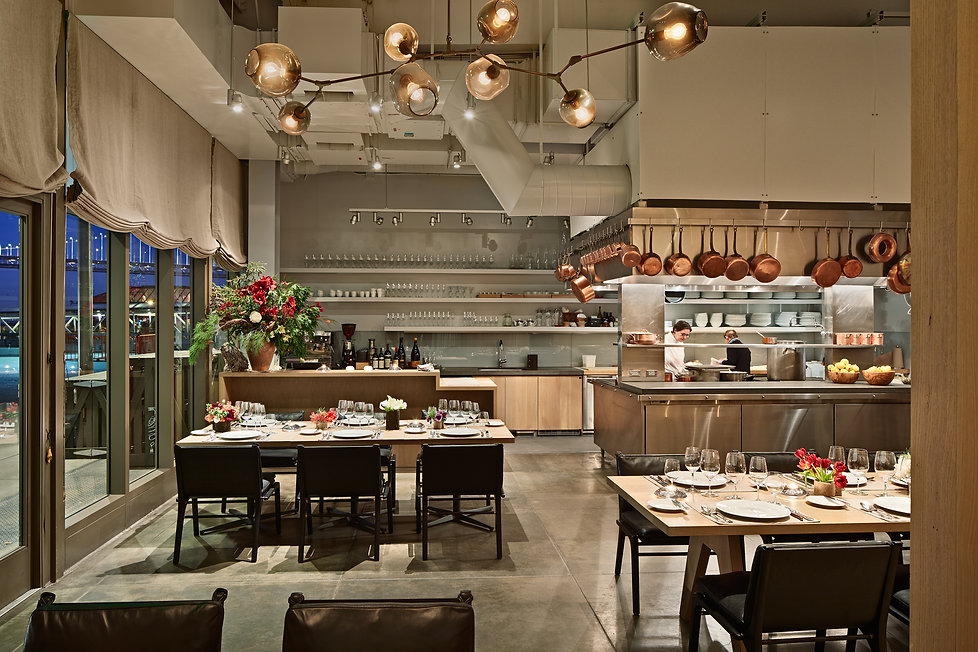 Boulette's Larder, dining and open kitchen
