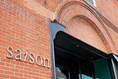 Saison Restaurant, facade