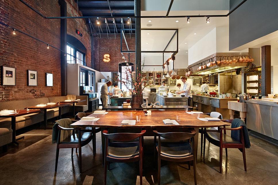 Saison Restaurant, dining room
