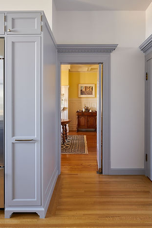 Pacific Heights Residence, view to dining room