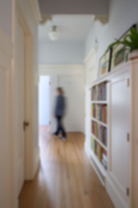 Pacific Heights Residence, hallway