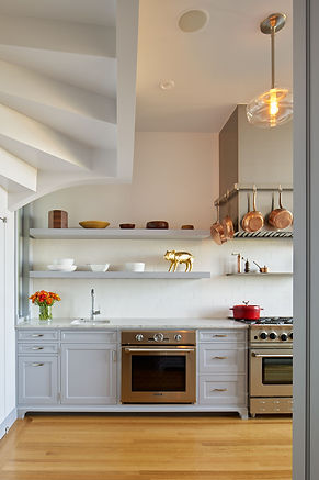 Pacific Heights Residence, kitchen counter