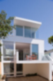 Noe Valley Residence: Rear View