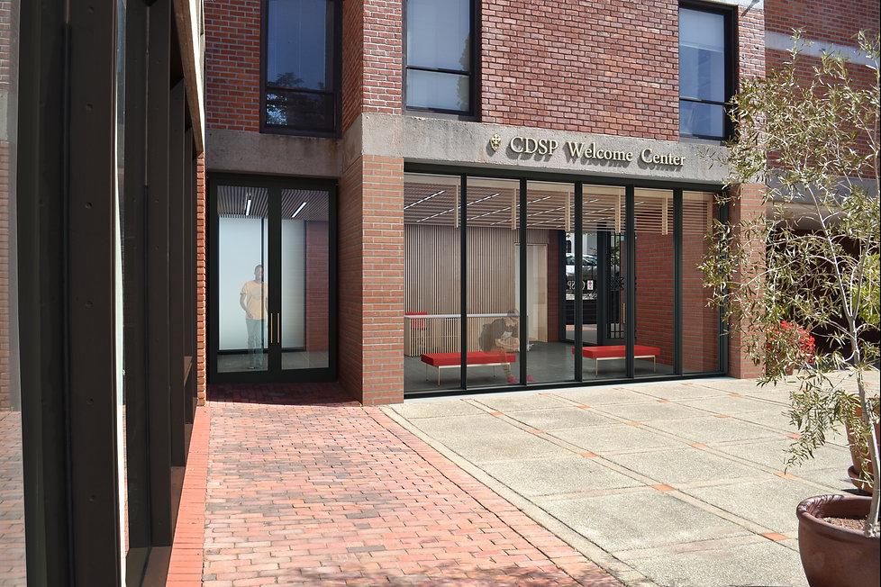 CDSP, Welcome Center exterior