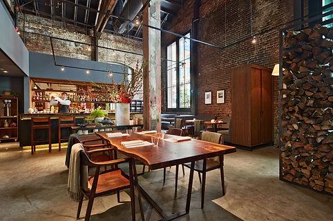 Saison Restaurant, view to bar area