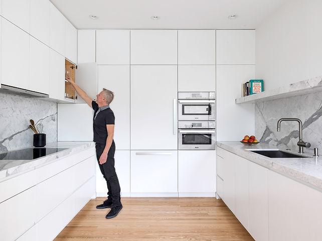 Telegraph Hill Residence, kitchen