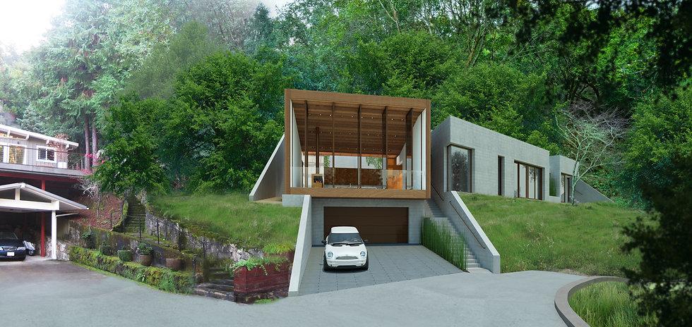 Tamalpais Valley Residence – Façade