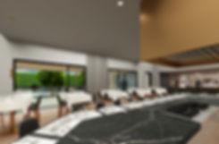 The Kitchen, interior rendering