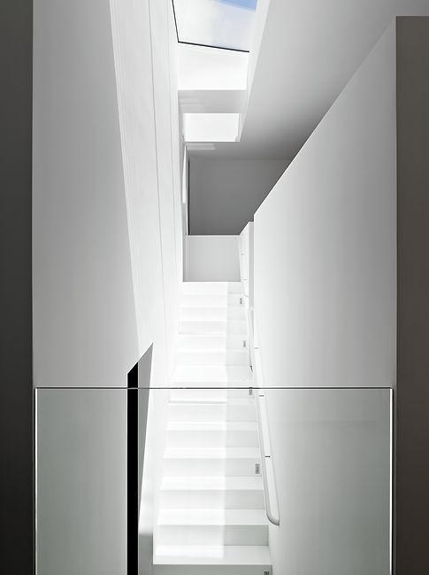 Los Altos Residence: Interior Stair