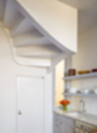 Pacific Heights Residence, stair detail