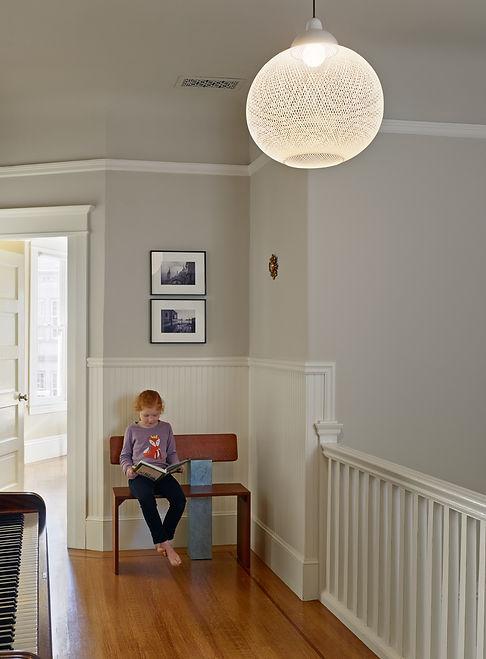 Inner Sunset Residence: Stair Landing