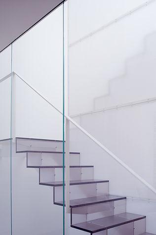 Noe Valley Residence: Stair Detail