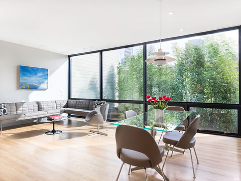 Telegraph Hill Residence, living space