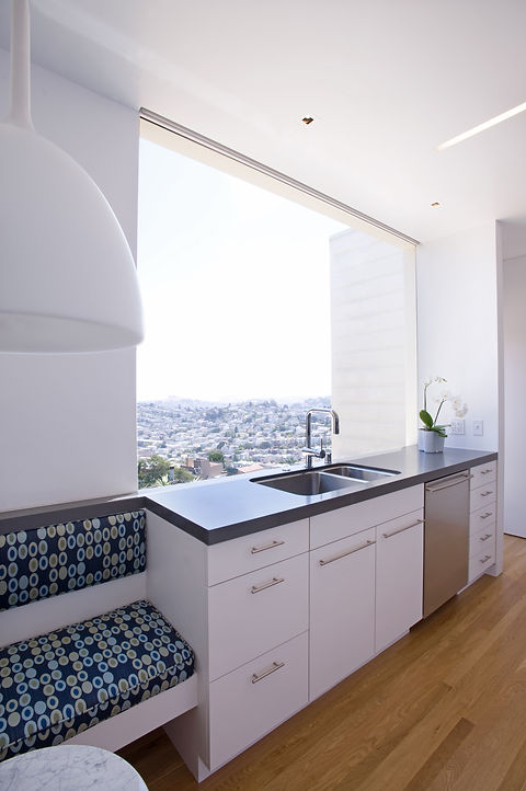 Ashbury Heights 1: Kitchen Picture Window
