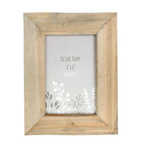 Photo Frame Wood 4x6
