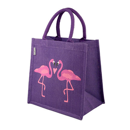 Flamingo Jute Bag