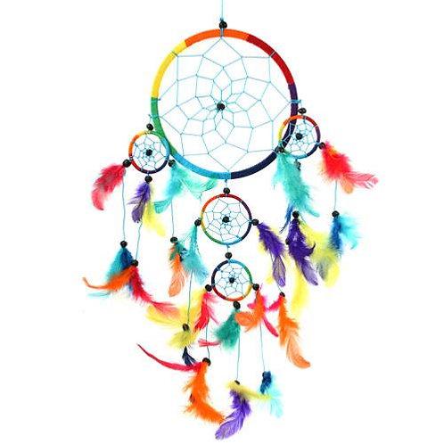 Rainbow Dreamcatcher 17cm