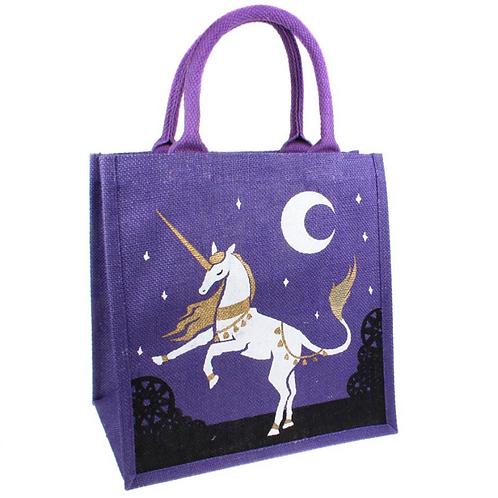 Unicorn Jute Bag