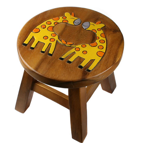 Two Giraffes Stool