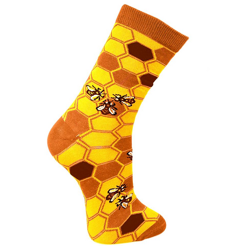 Bees Socks Size - Available in 2 Sizes