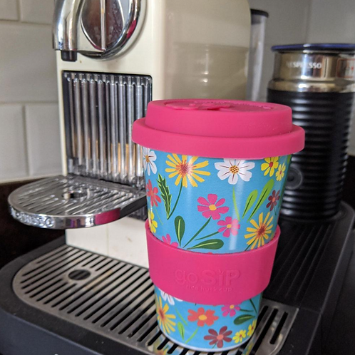 Eco Travel Mug Floral