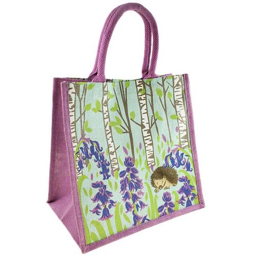 Hedgehog Jute Bag