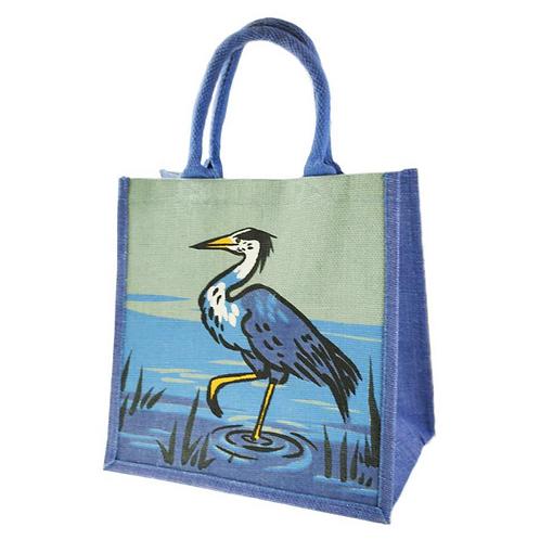 Heron Jute Bag