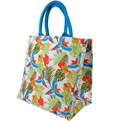 Tropical Forest Jute bag