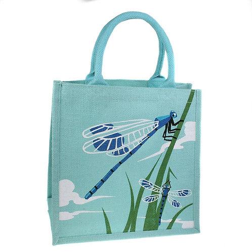 Dragon Fly Jute Bag